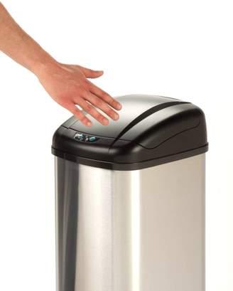 Honey-Can-Do International TRS-01198 Stainless Steel Square Sensor Trash Can, 48-Liter