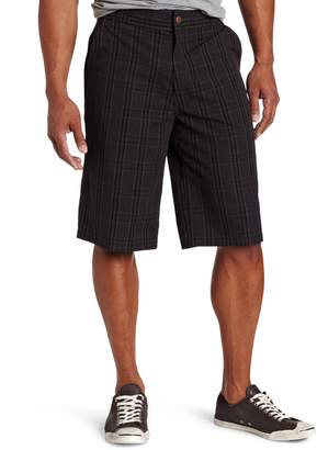 Dickies Men's 13 Inch Plaid Short