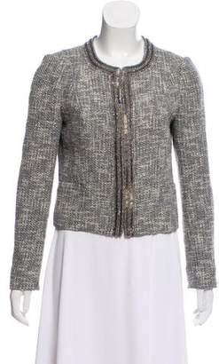 Tory Burch Tweed Structured Blazer