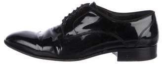 Lanvin Patent Leather Derby Shoes