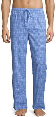 Derek Rose Ledbury 5 Medallion-Pattern Cotton Lounge Pants