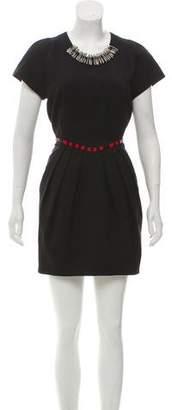 Vena Cava Embellished Mini Dress