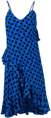 Kenzo polka dot frilled dress