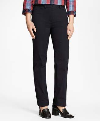 Stretch Cotton Twill Pants $148 thestylecure.com