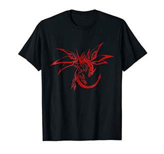 Dragon Optical Flying T-shirt Red Tattoo Art Tee