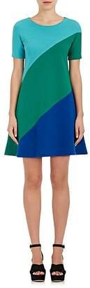 Lisa Perry Women's Swirl Wool A-Line Dress