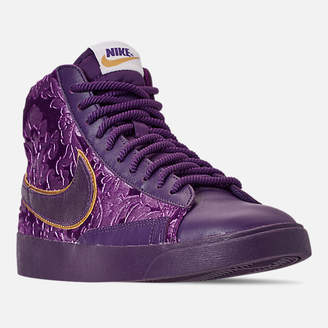 Nike Women's Blazer Mid Metallic Casual Shoes