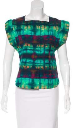 Marissa Webb Tie-Dye Short Sleeve Top
