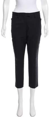 Etoile Isabel Marant Mid-Rise Cropped Pants
