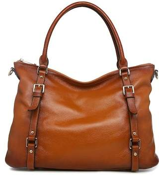 Vicenzo Leather Callie Leather Shoulder Tote Handbag