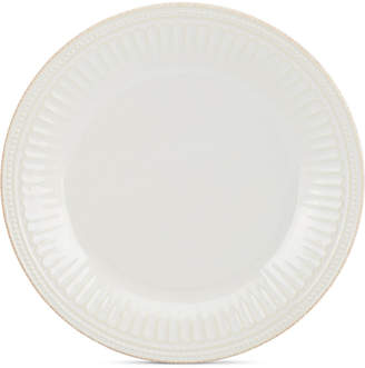 Lenox Stoneware French Perle Groove White Dinner Plate