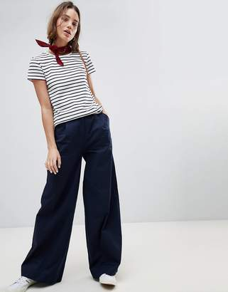 People Tree Cotton Wide Leg Pants