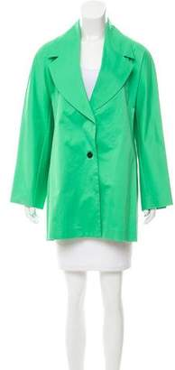 Shamask Tailored Button-Up Coat