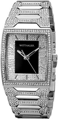 Wittnauer Mens WN3037 30mm Stainless Steel Watch Bracelet