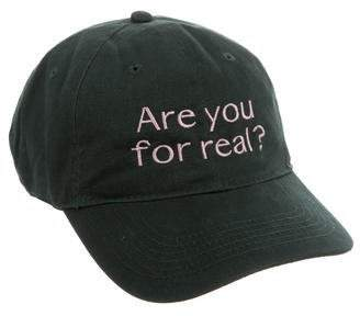 The RealReal Organic Cotton Twill Embroidered Hat