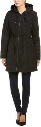 Laundry by Shelli Segal Reversible Quilted Coat
