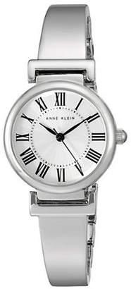 Anne Klein Analog Roman Dial Silvertone Bracelet Watch