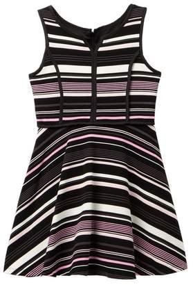 Pippa & Julie Stripe Knit Dress (Big Girls)