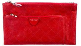 Marc Jacobs Quilted Small Multi Pouch Red Quilted Small Multi Pouch