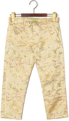 GO TO HOLLYWOOD チャイナ風 パジャマパンツ ベージュ 100