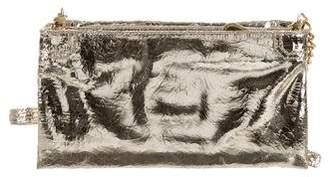 Alice + Olivia Metallic Leather Bag
