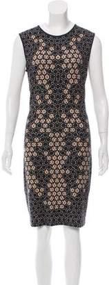 Alexander McQueen Honeycomb Bodycon Dress