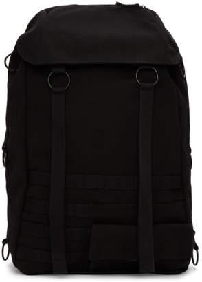 Raf Simons Black Eastpak Edition Topload Long Loop Backpack