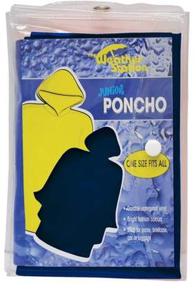 Chaby International Youth PVC poncho in color matching carry case