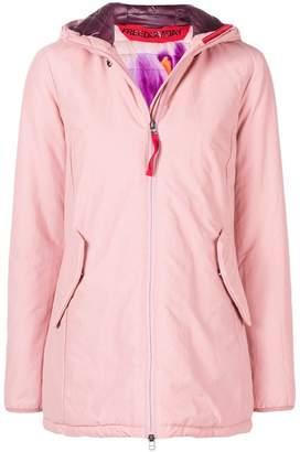 Freedomday short hooded jacket