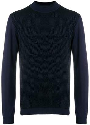 Giorgio Armani mock neck sweater