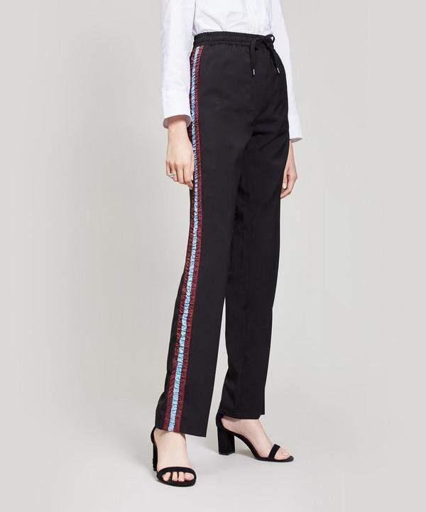 N21 Ruffle Stripe Tailored Trousers