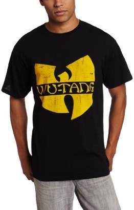 FEA Men's Wu Tang Clan Classic Yellow Logo T-Shirt