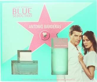 Antonio Banderas Blue Seduction For Women Gift Set 50mL Edt + 100mL Body Lotion For Women