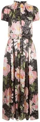 Dolce & Gabbana Jacquard Floral Jumpsuit