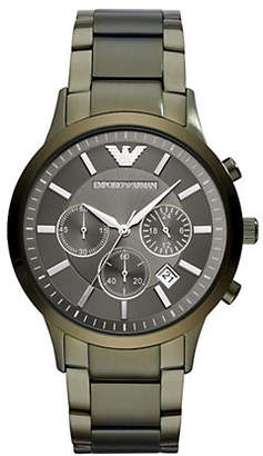 Emporio Armani Renato Chronograph Mens Dress Watch