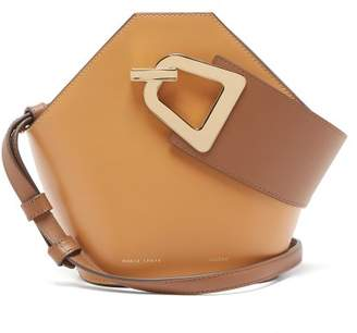 Danse Lente Johnny Mini Leather Bucket Bag - Womens - Tan