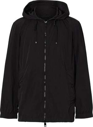 Burberry lightweight hooded jacket