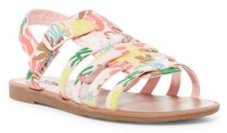 Toms Huarache Tropical Palms Sandal (Little Kid & Big Kid)