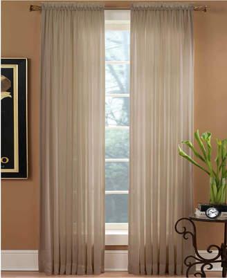 """Miller Curtains Sheer Preston Rod Pocket 51"""" x 63"""" Panel"""