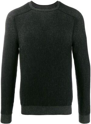 Sease cashmere reversible knit jumper