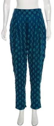 Chloé Silk Patterned Pants