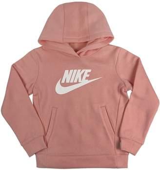 Nike Little Girl's Cotton Blend Fleece Hoodie