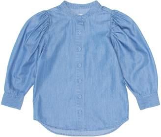 Stella McCartney Cotton-blend denim blouse