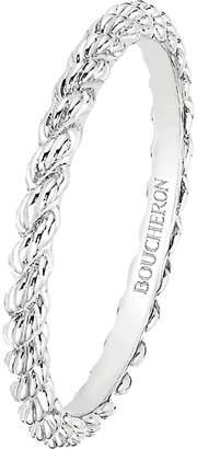 Boucheron Serpent Bohème 18ct white-gold wedding band