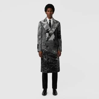 Burberry Dreamscape Wool Jacquard Double-breasted Coat