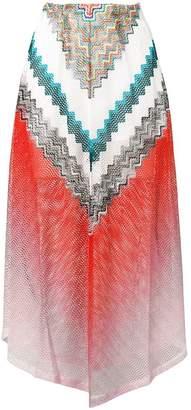 Missoni Mare patterned skirt