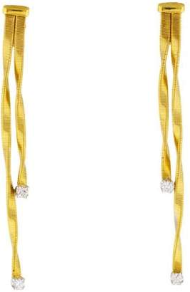 Marco Bicego 18K Diamond Marrakech Drop Earring