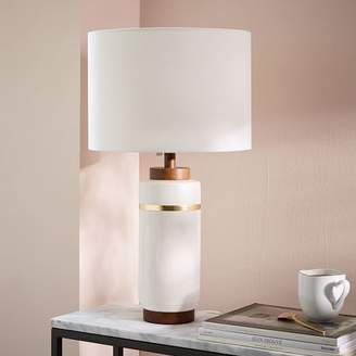 west elm Roar + RabbitTM Crackle Glaze Ceramic Table Lamp - Large