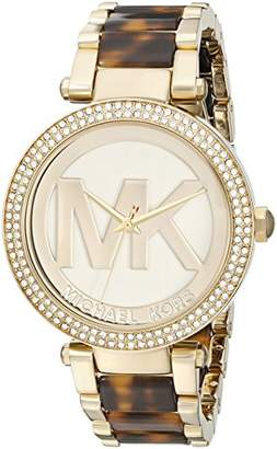 Michael Kors Women's Parker Brown Watch MK6109