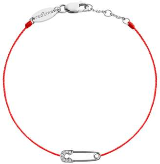 Redline Ange Red Bracelet - White Gold